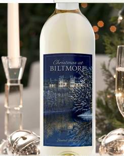 Call For Artists 2013 Christmas At Biltmore Wine Label Design